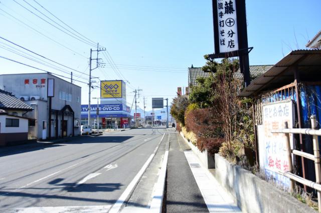 GEO塩山店の向かい